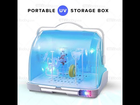 2 in 1 Portable UV Storage Box | For Milk Bottles / Tableware / Clothes / Toys