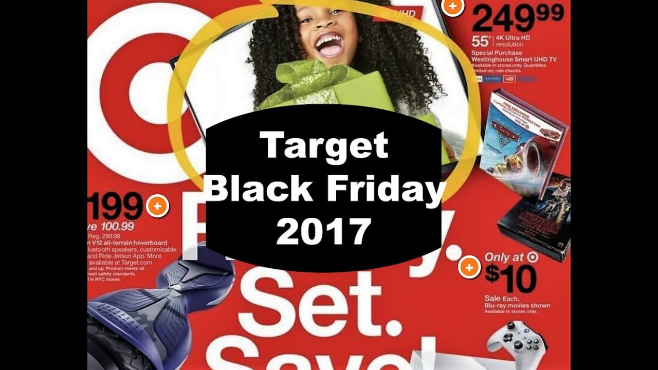 Target Black Friday Overview 2017 Youtube