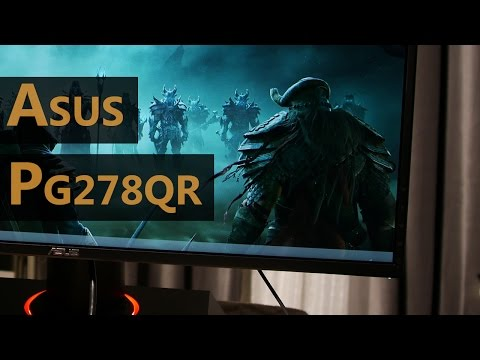 "Asus PG278QR 165Hz WQHD G-Sync Detailed Monitor Review - ""Best"" TN Monitor...?"