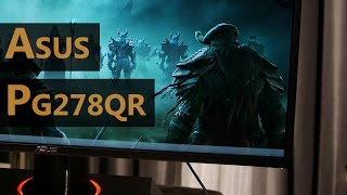 """Asus PG278QR 165Hz WQHD G-Sync Detailed Monitor Review - """"Best"""" TN Monitor...?"""