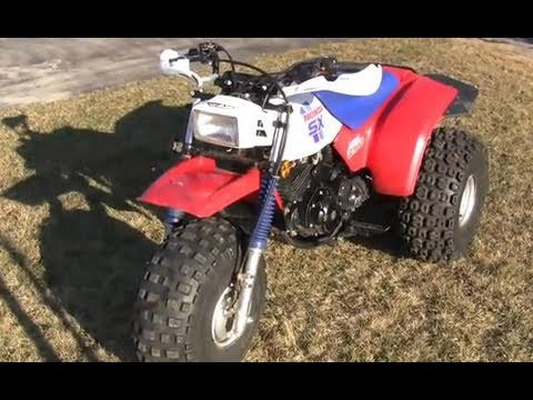 Honda 250SX ATC Tribute - YouTube