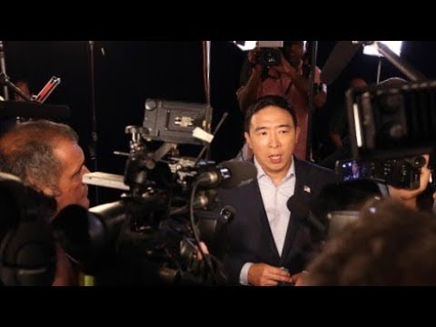 Andrew Yang gets over 450K entries for $120K givaway