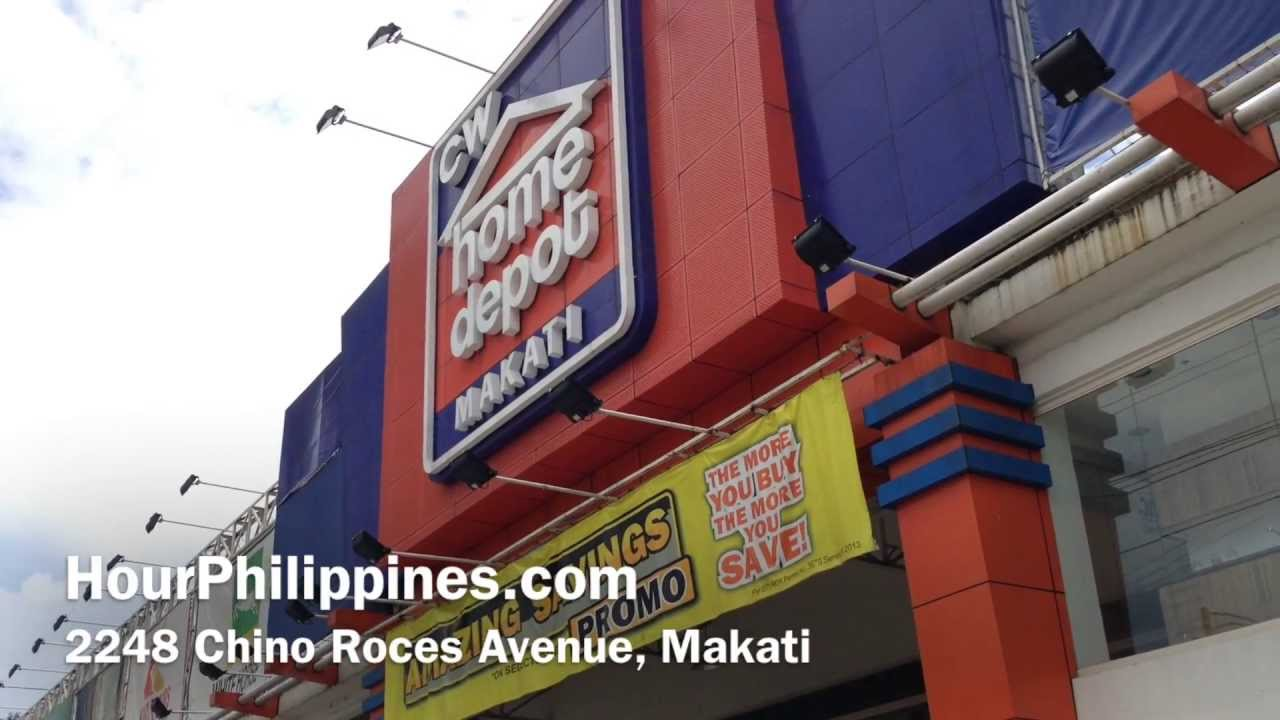 Cw Home Depot Makati Chino Roces Avenue By Hourphilippines