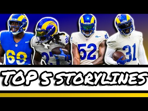 Download Top 5 Storylines Of The LA Rams 2021 Training Camp!