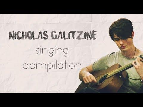 Nicholas Galitzine singing compilation