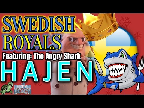 SWEDISH ROYALS - Featuring HAJEN - One of the BEST TFs in Boom Beach! - Forlorn Hope