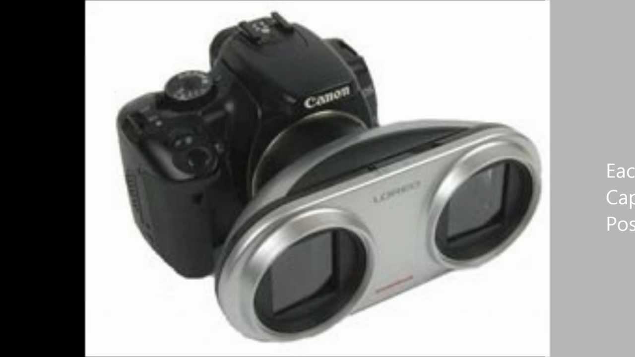 Camera 3d Dslr Camera review of 3d lens for canon dslr youtube dslr