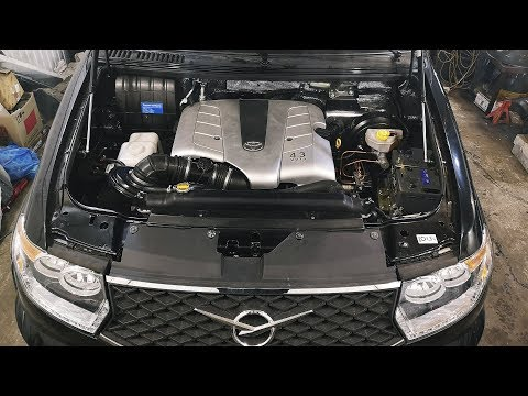 УАЗ Патриот 2019 V8 3UZ-FE #3 первый запуск
