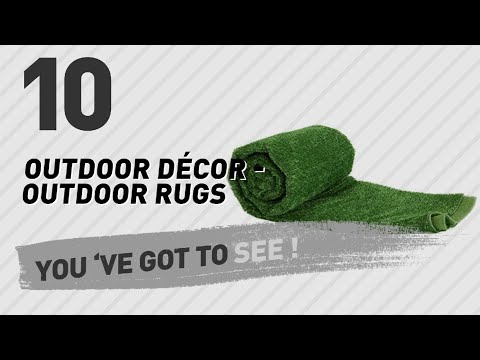 Top 10 Outdoor Décor - Outdoor Rugs // New & Popular 2017