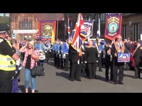 Govan Dist 42 Somme Parade
