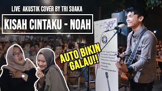Download Mp3 KISAH CINTAKU NOAH LIVE AKUSTIK COVER BY TRI SUAKA
