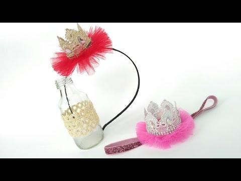 D.I.Y Mini Crown Headband For Baby & Kids   by Elysia Handmade
