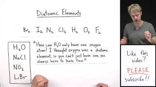 Super Common Mistake: Diatomic Elements