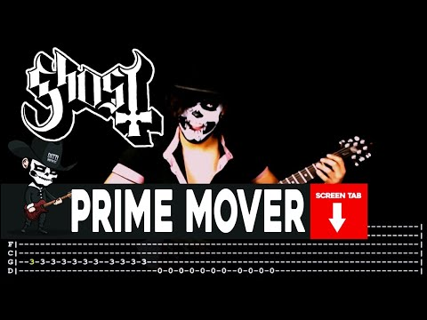 Ghost - Prime Mover (Guitar Cover by Masuka W/Tab)
