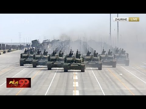 Full video: China's grand military parade marks PLA 90th birthday | 中国人民解放军建军90周年阅兵