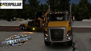American Truck Simulator | Alaska Caminos Extremos a Nome | CAT CT660 XL