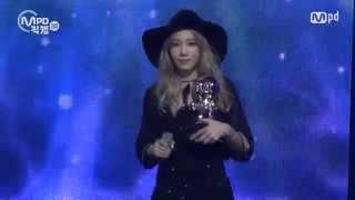 [MPD직캠] 태연 1위 앵콜 직캠 I Fancam No.1 Encore full ver. MNET MCOUNTDOWN 151015