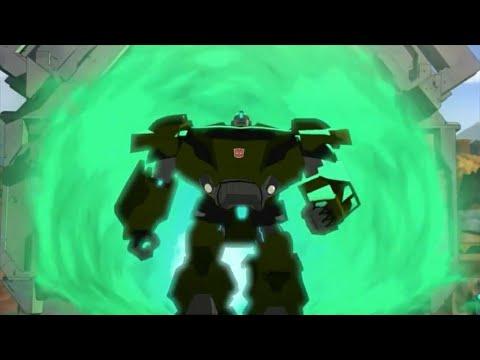 Мультфильм трансформеры роботы под прикрытием на русском все серии подряд