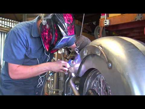 Custom Build Welding The Rear Fender Road Rage Performance Custom