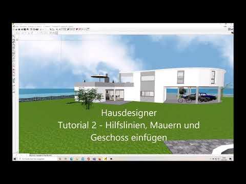 Hausdesigner Tutorial 2