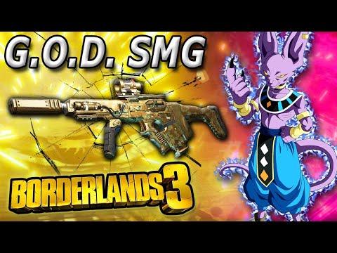 The G.O.D. Smg utterly Destroys in Borderlands 3  