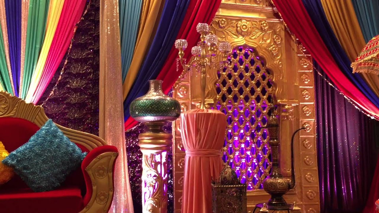 Darbar Themed Henna Night Youtube
