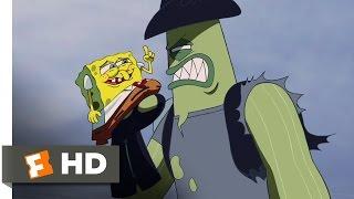 The SpongeBob SquarePants Movie (9/10) Movie CLIP - Dennis Always Gets His Man (2004) HD
