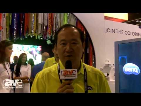 InfoComm 2015: President of BenQ Latin America Peter Tan Gives an Overview of the Company