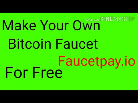 Make Your Own Crypto Faucet Using Faucetpay.io Original Script