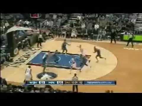 [Darko Miličić ]Darko Milicic vs Wizards (2010-11 NBA regular season)