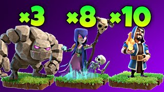 Th9 GoWiWi (Golem + Witch + Wizard) War Attack Strategy | Part 2 | Clash of Clans