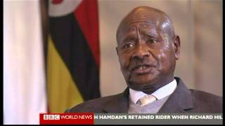 YOWERI MUSEVENI ON HARD TALK pt,1-2