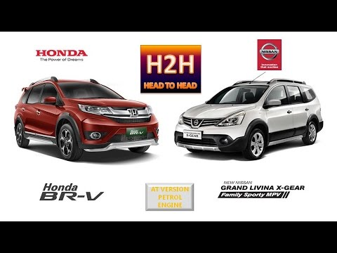 H2h 53 Honda Br V Vs Nissan Grand Livina X Gear Youtube
