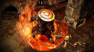 Path of Exile: Infernal Character Effect