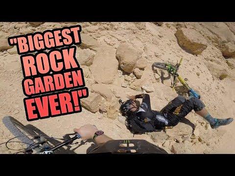 BIGGEST ROCK GARDEN EVER - MTB ISRAEL