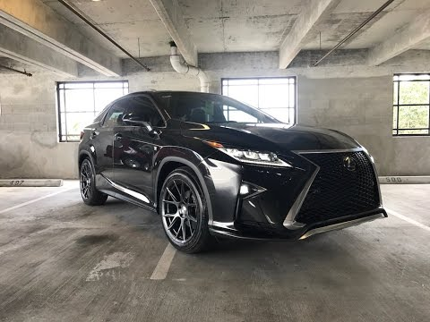 Worlds First 2016 RX 350 F-Sport Lowered on RS-R ...