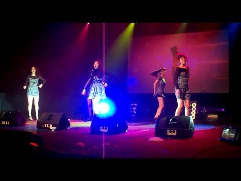 [FANCAM] 100630 Tell Me - Wonder Girls live in Seattle