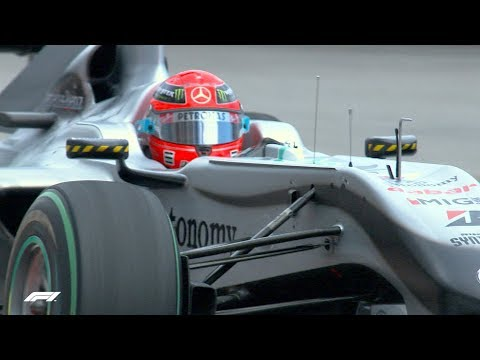 Schumacher's Opportunistic Pass on Alonso | 2010 Monaco Grand Prix