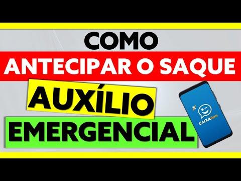 AUXÍLIO 600: COMO ANTECIPAR O SAQUE DO AUXÍLIO EMERGENCIAL? | SAQUE EM DINHEIRO