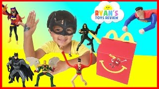 MCDONALD'S HAPPY MEAL TOY SURPRISE FULL SET 2016 Justice League and DC SuperHero Girls