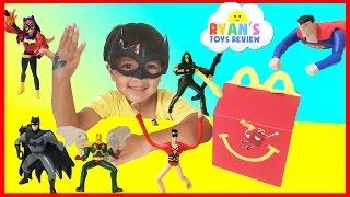 MCDONALD'S HAPPY MEAL TOY SURPRISE FULL SET 2016 Justice League Action DC SuperHero Girls Kids Toys