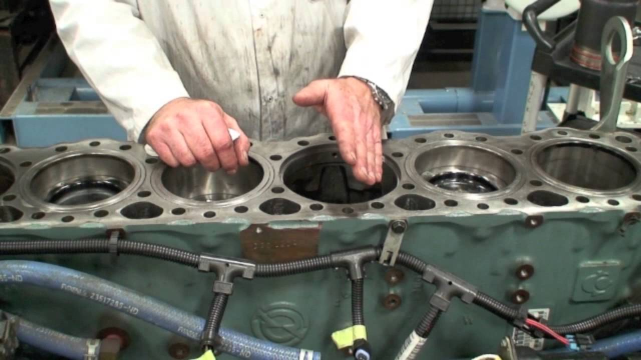 Wet Sleeve Installation and Protrusion Measurements - YouTube