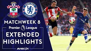 Southampton v. Chelsea | PREMIER LEAGUE HIGHLIGHTS | 10/6/19 | NBC Sports