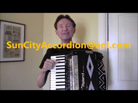 Roland FR8x FREE Sheet Music Besame Mucho accordion