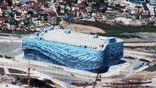 Olympiastätten in Sotschi: Mehr Stahl verbaut als beim Eiffelturm