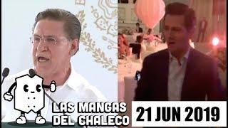 Las Mangas del Chaleco: El baile de Peña Nieto, la mudanza de AMLO y preparan nueva subasta