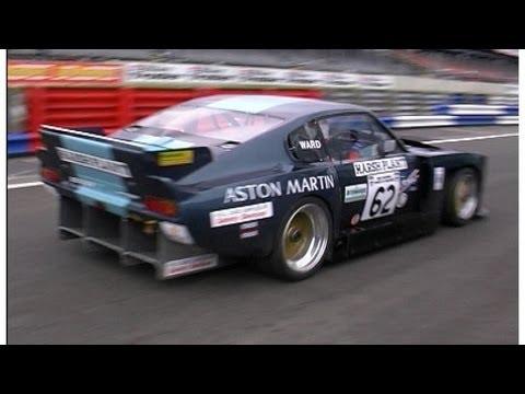 Aston Martin Racing with the Aston Martin Owners Club St John Horsfall meeting Silverstone 1997
