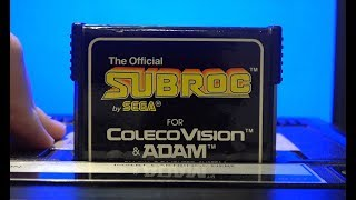 Classic Game Room - SUBROC review for ColecoVision