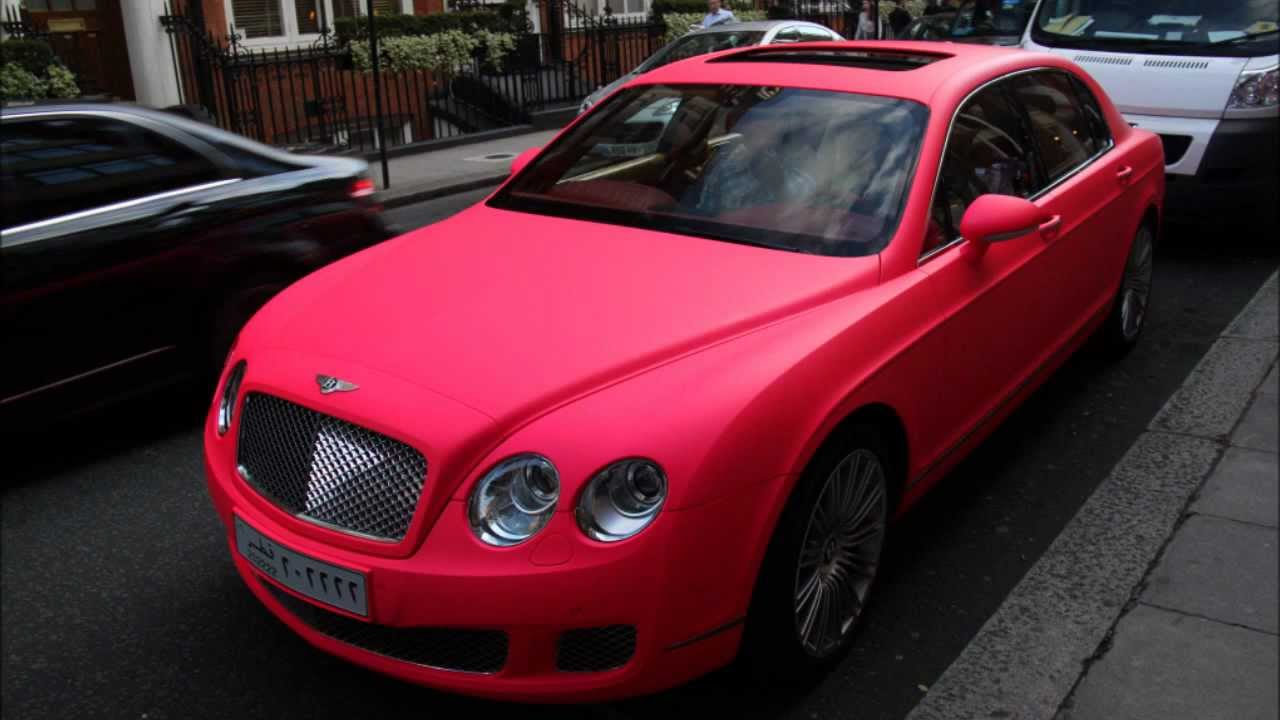 Aston Martin Vantage >> Matte PINK Bentley and Shmee150's Aston Martin in London! Brutal Sound!!! Summer 2011 - YouTube