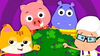 Here We Go Round The Mulberry Bush | Nursery Rhymes | Baby Songs | Kids Songs
